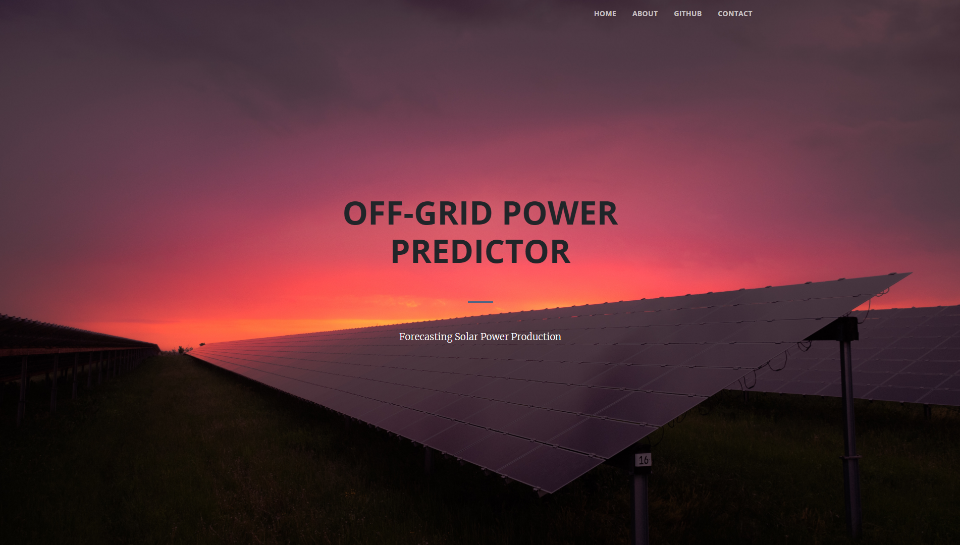 Power Predictor